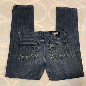 Women's Rock and Republic straight leg jeans EUC